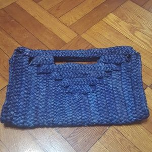 blue bag basket material